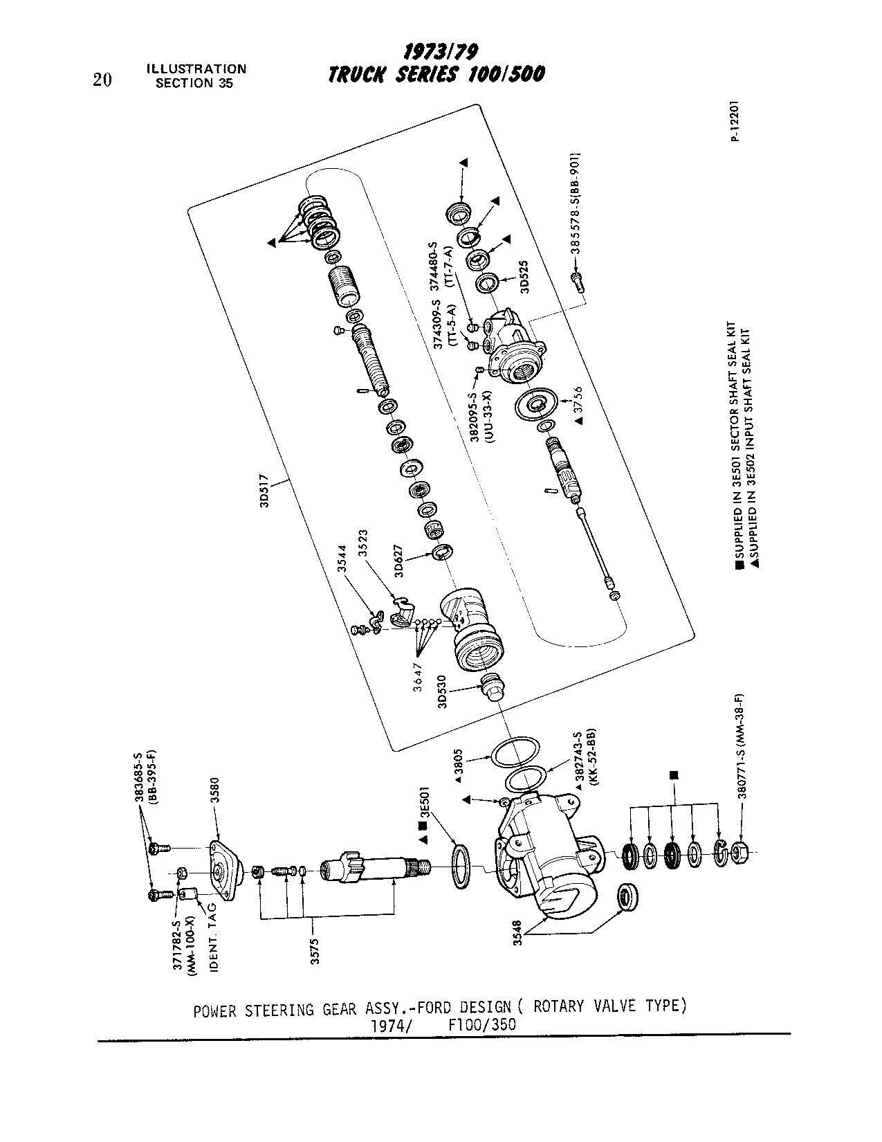 78 F150 Steering Mystery Loose Steering