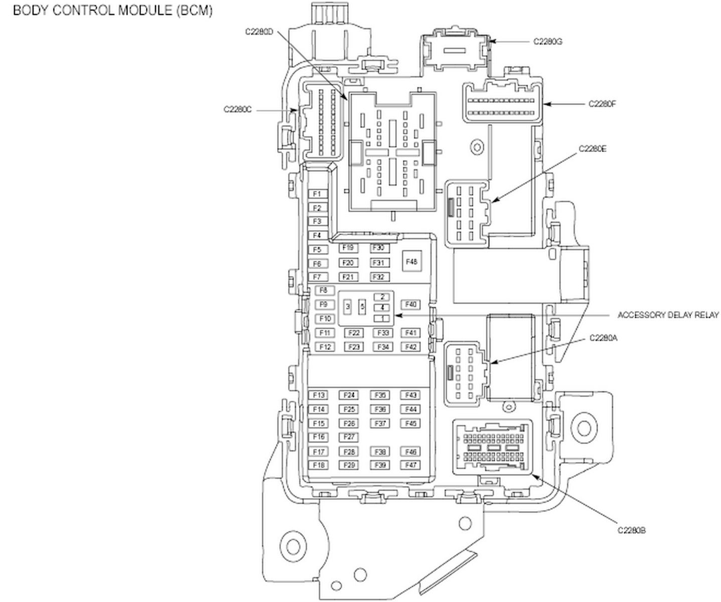 11 Superduty Mirror Wiring Diagram