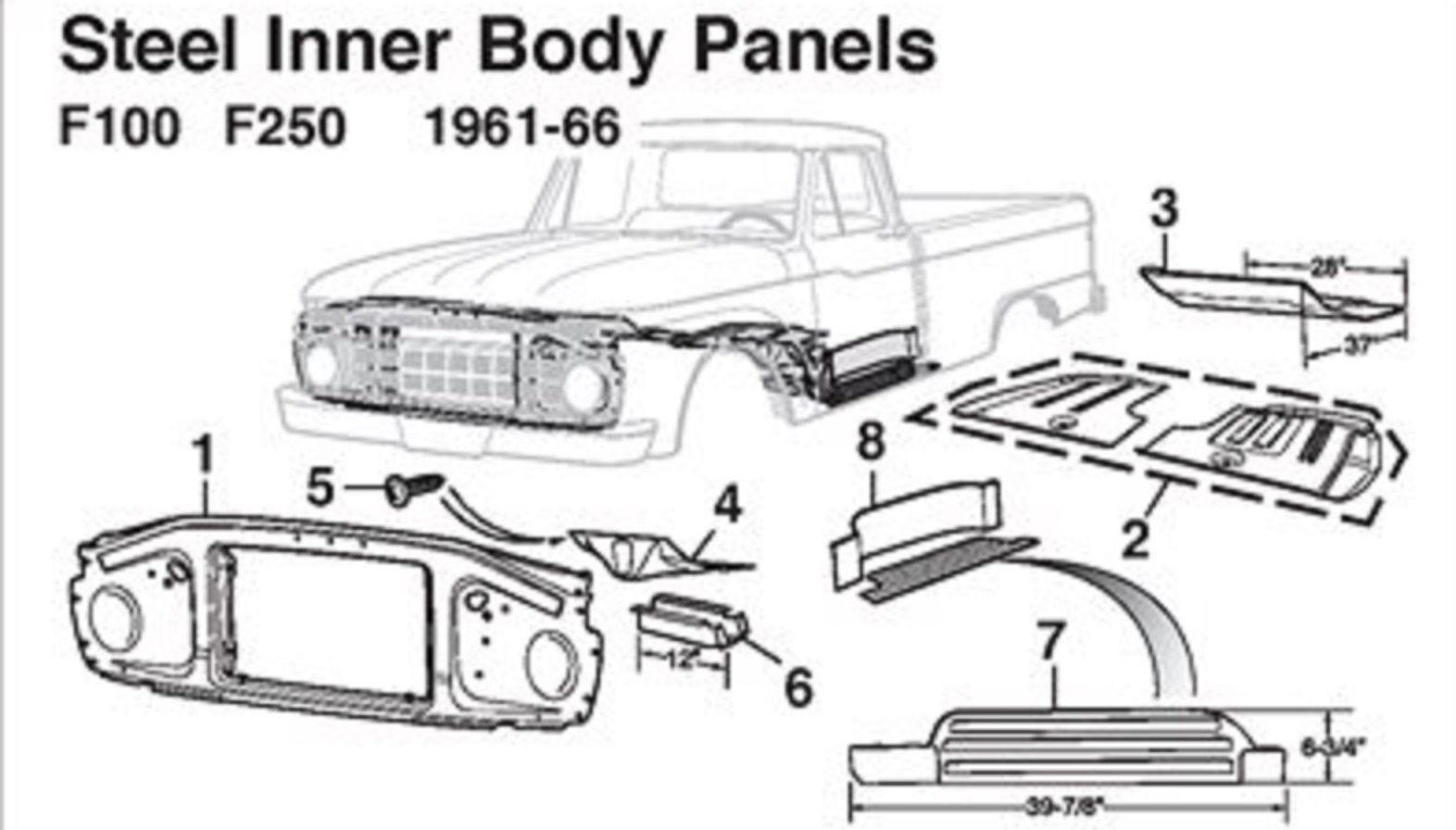 Radiator Support 65 66