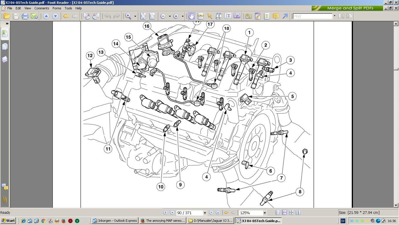 2004 Jaguar S Type Engine Diagram Xj8 Sensor