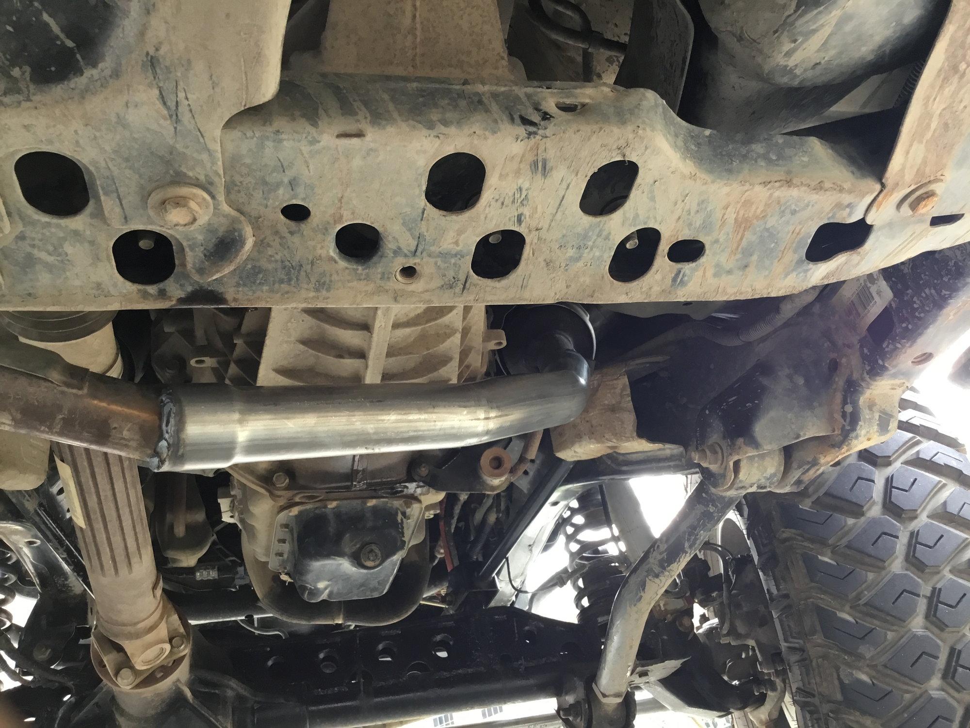 3 6 jk exhaust manifold crack jk