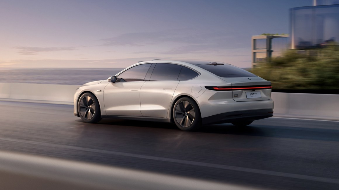 2022 Nio ET7 electric sedan ready to take on the Tesla Model S in China