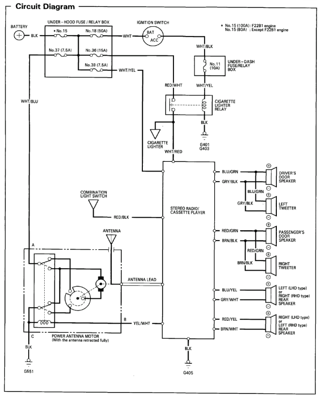 2003 honda accord stereo wiring diagram – wiring diagram and, Wiring diagram