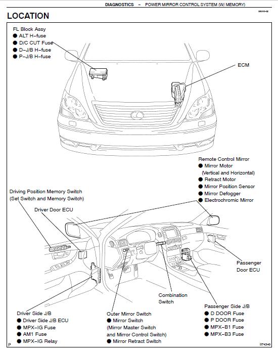 Diagram 2008 Lexus Is 250 Fuse Box Diagram