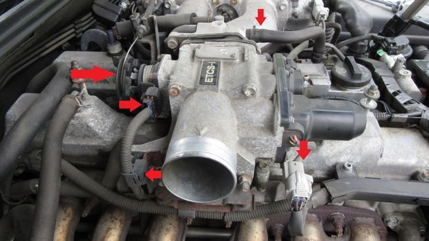 Diy Valve Cover Gasket And Spark Plug Replacement Gs300