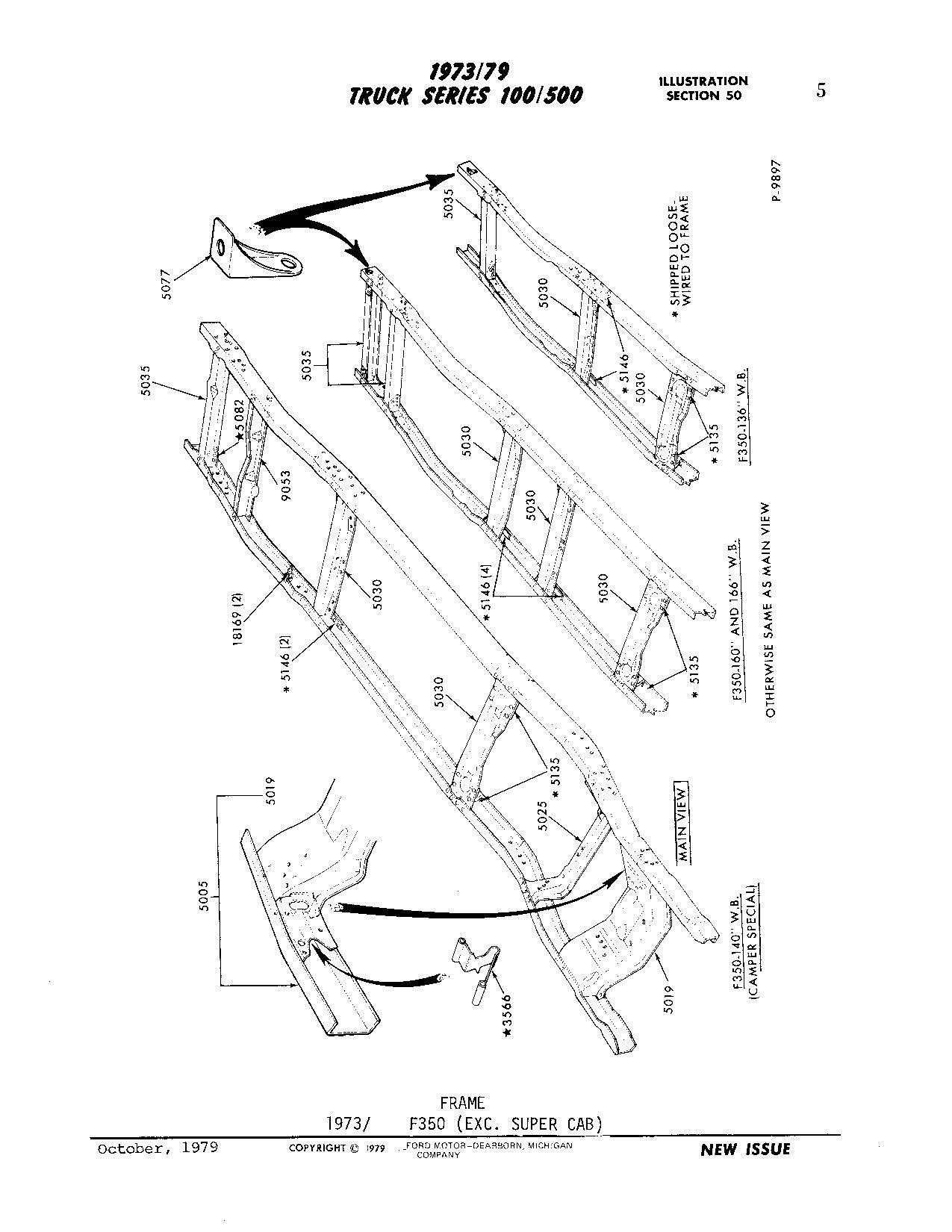 Ford E350 Frame