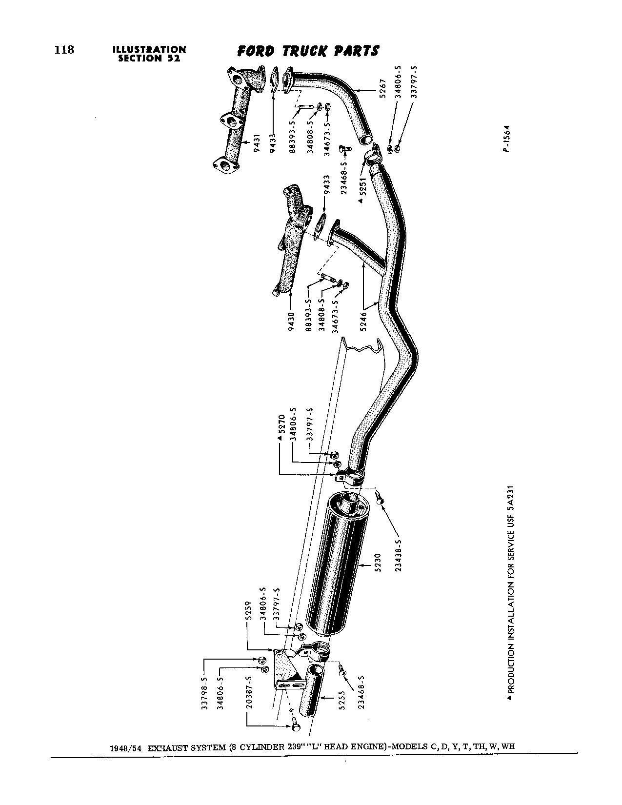 Exhaust Gasket Flathead 8
