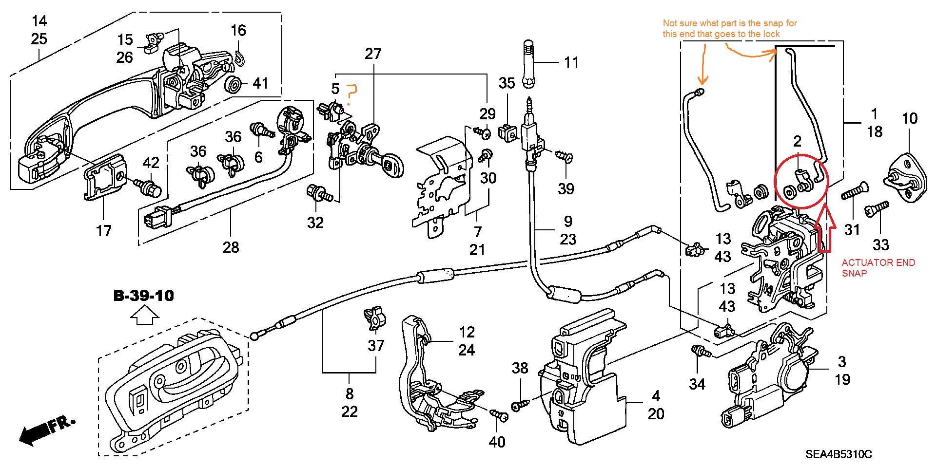 F 179 Diy Pass Door Lock Actuator Replacement W Pics