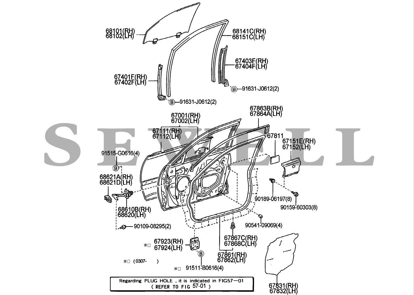 Lexus Gs430 Parts Diagram