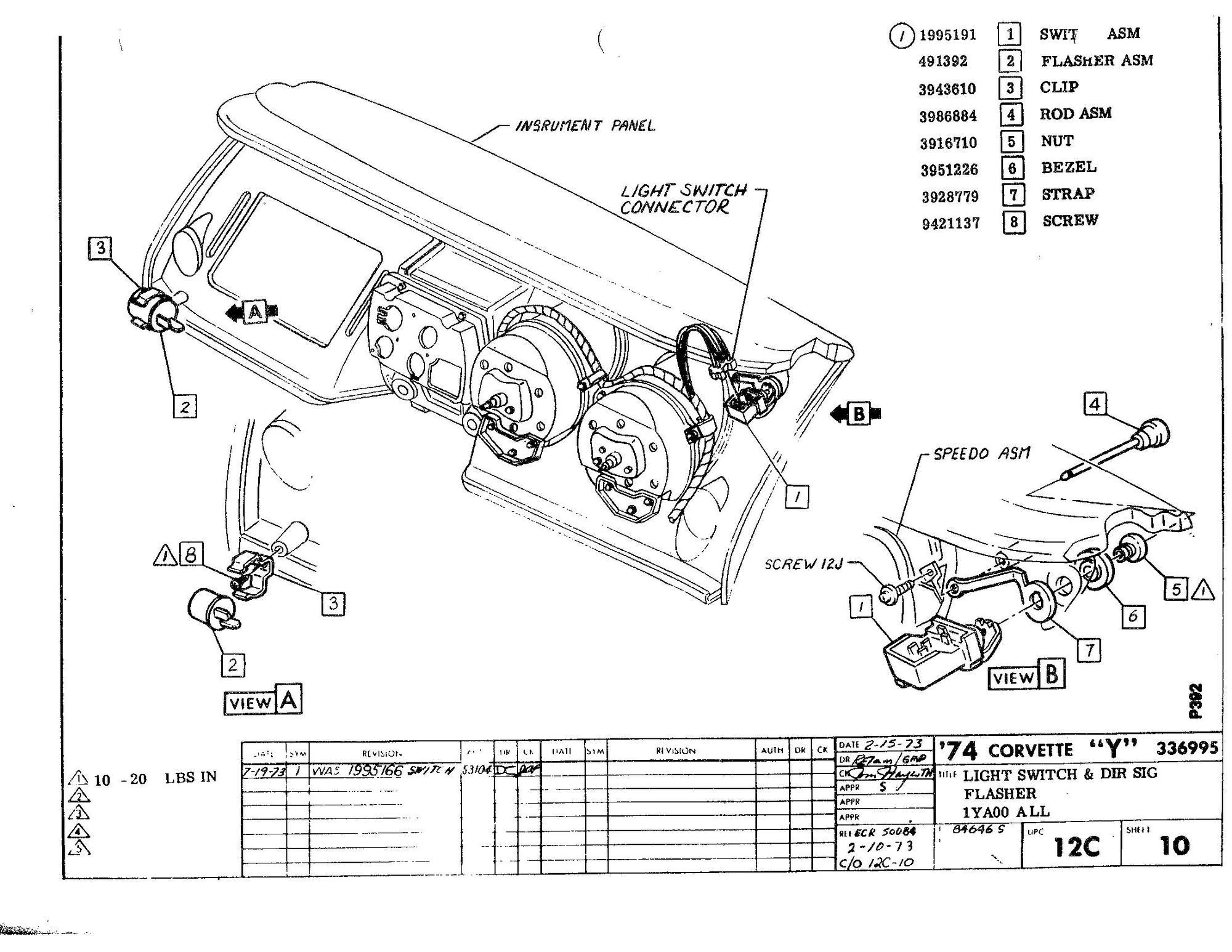 C3 Corvette Starter Wiring