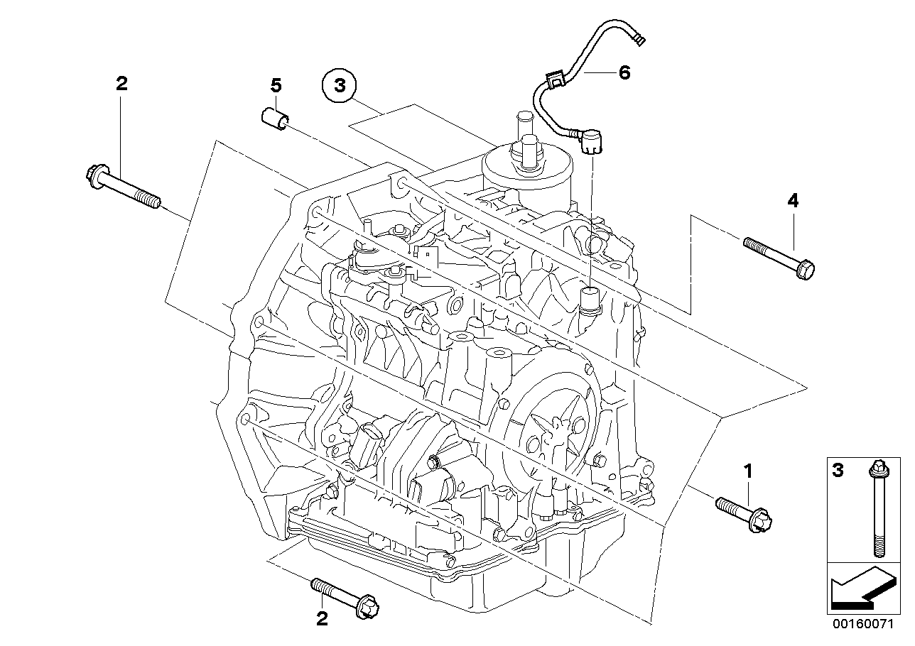 Mini Cooper Transmission Diagrams