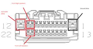 Radio Wiring Diagram for 2013 Dodge Journey SXT FWD