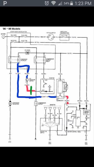No ac!! Heater control panel??  HondaTech  Honda Forum