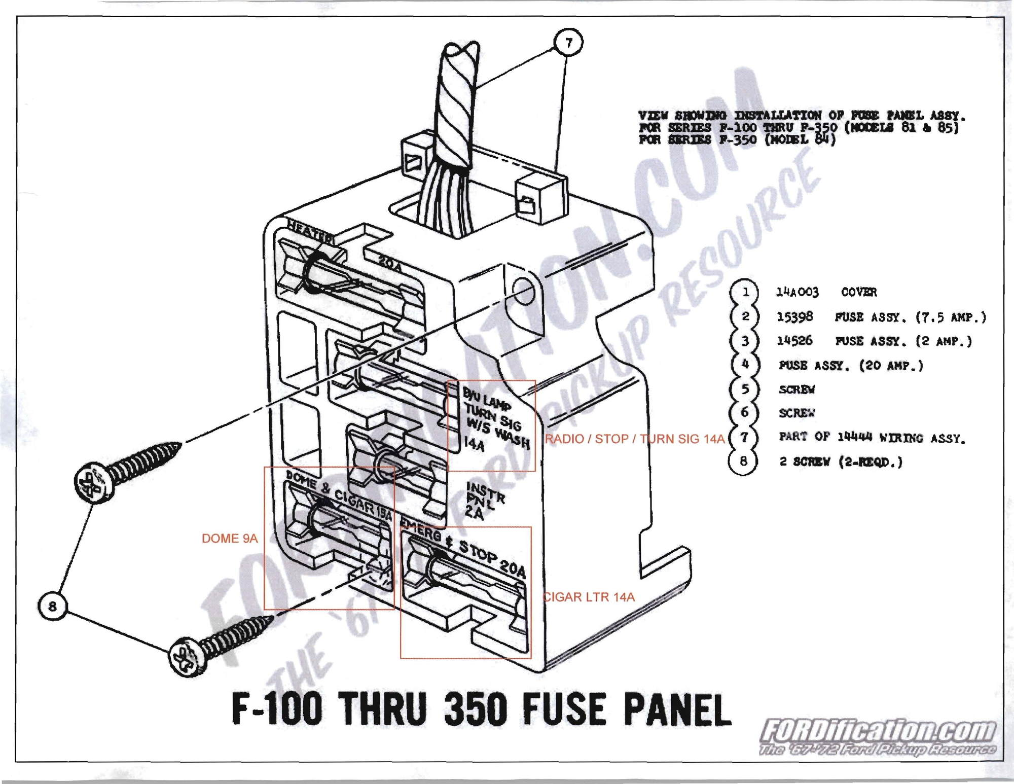 Fuse Panel Question