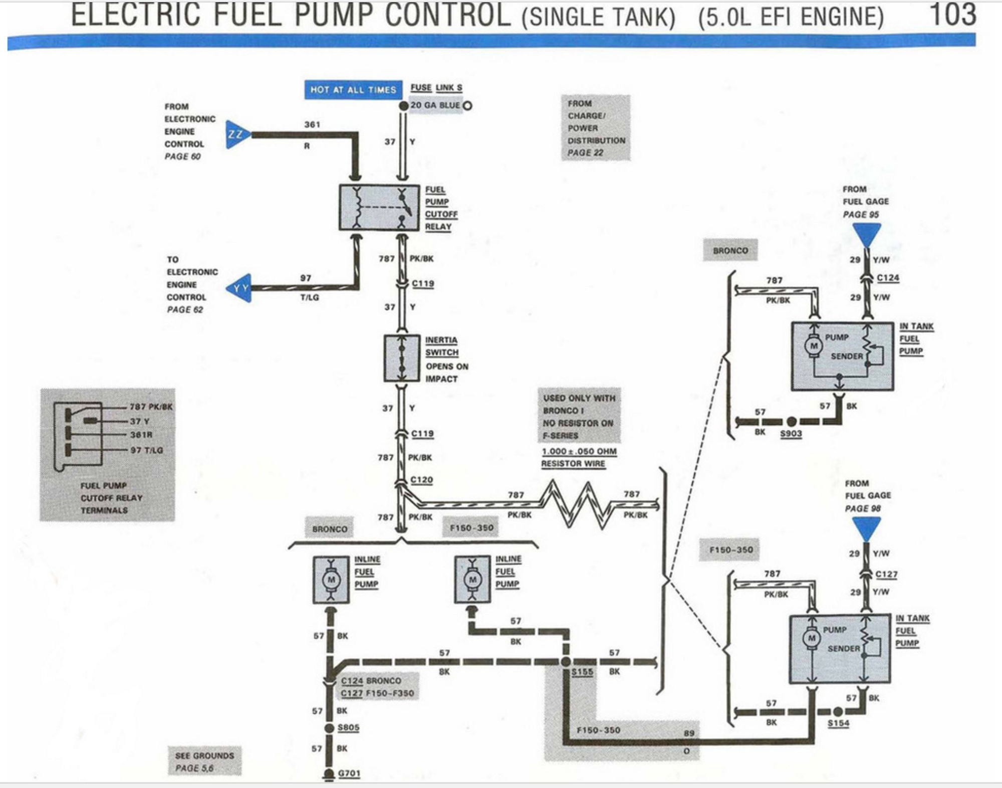 Ford F 150 Relay Diagram