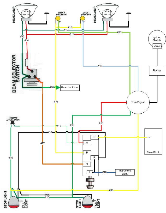 wiring diagram for signal stat 700 signal stat 900 signal Turn Signal Switch Diagram GM Turn Signal Switch Diagram