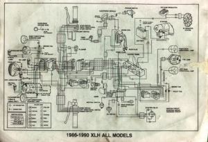 Need a wiring diagram for a 1987 883 Sportster  Harley