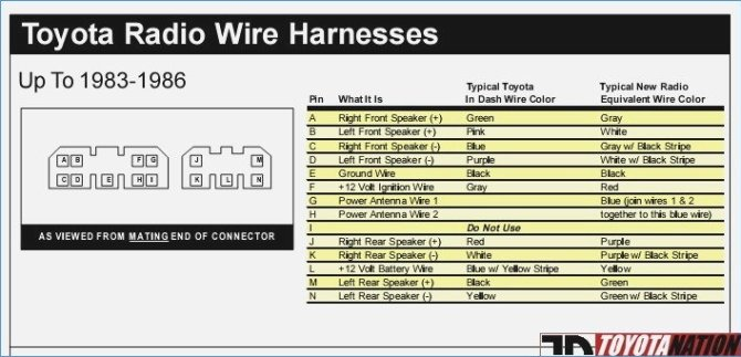 1989 toyota pickup stereo wiring diagram  center wiring
