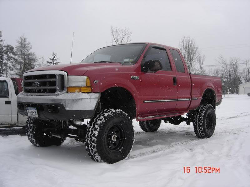 F150 6 Lift And 38 Tires