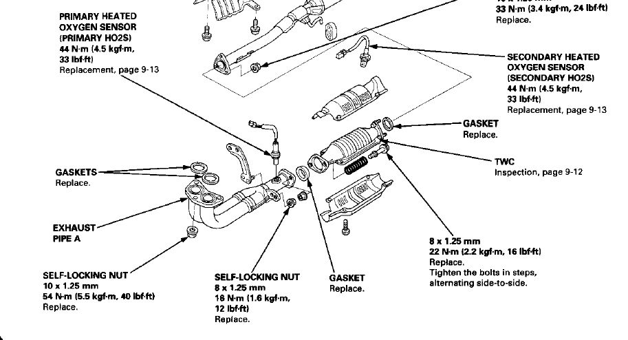 Honda Heated Oxygen Sensor Wire Diagram,Heated.Free Download ...