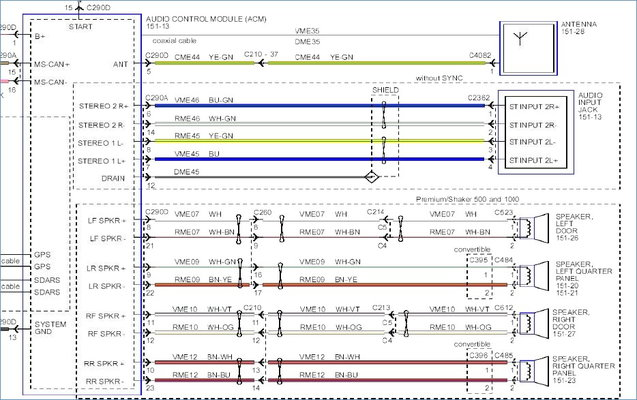ford 500 stereo wiring diagram  transmission wiring diagram