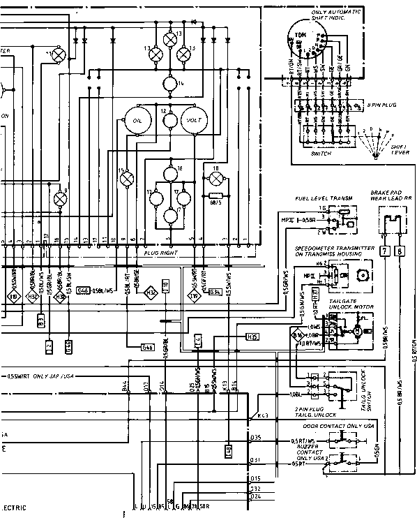 84 Porsche 944 Fuse Box Diagram 1984 944 Dash Wiring