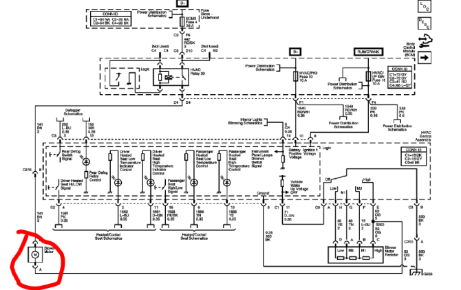 looking for a hvac wiring diagram 2008 hhr  chevy hhr network
