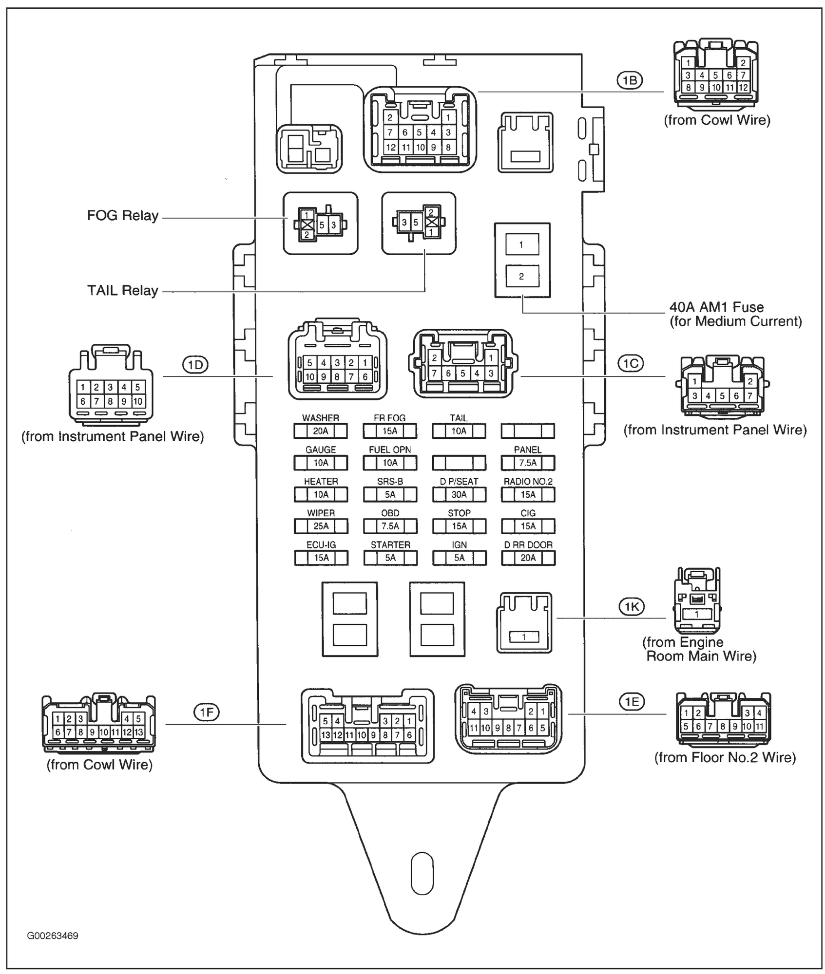 93 Lexus Gs300 Fuse Diagram