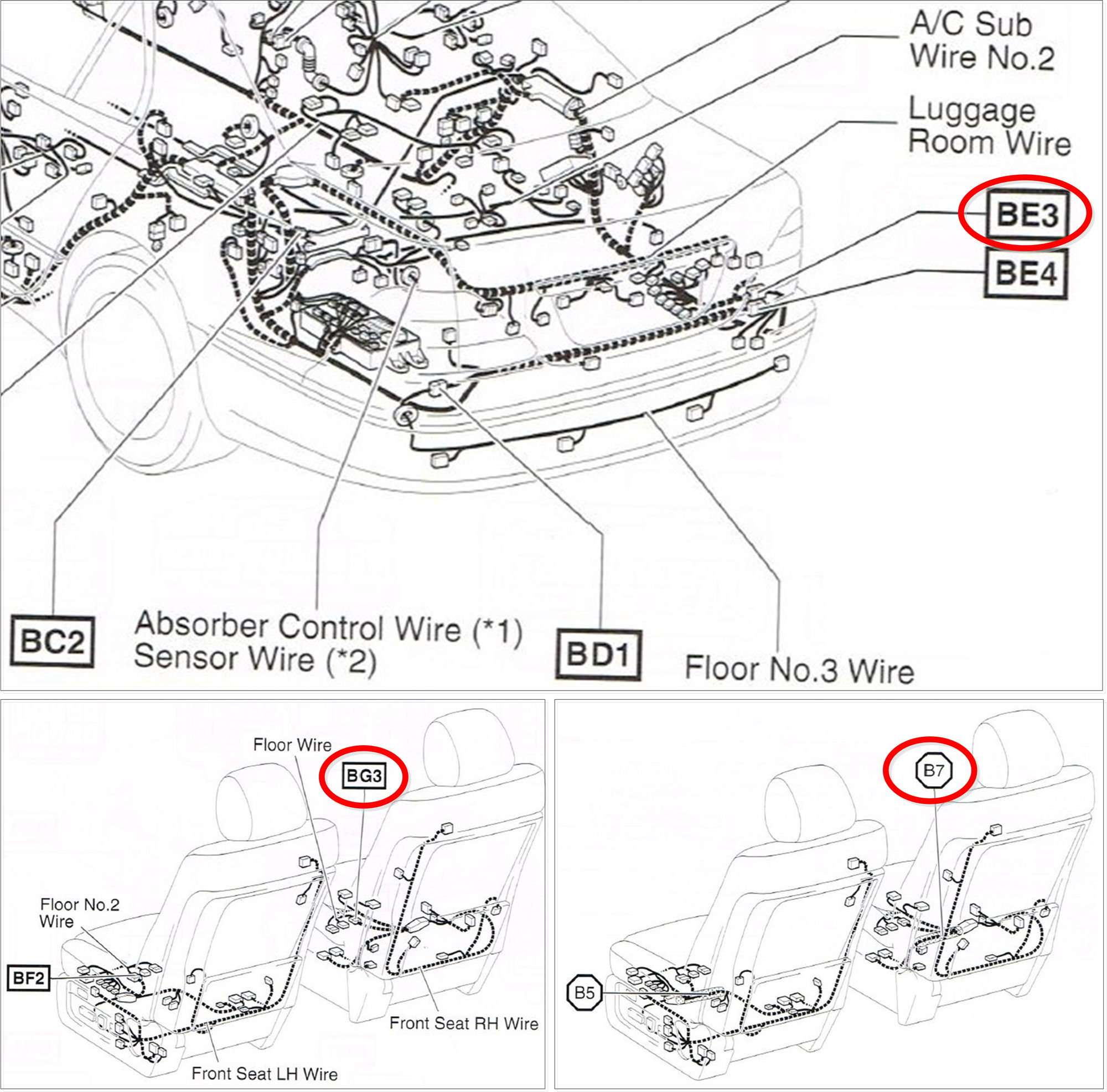 Honda Civic Headlight Wiring Diagram
