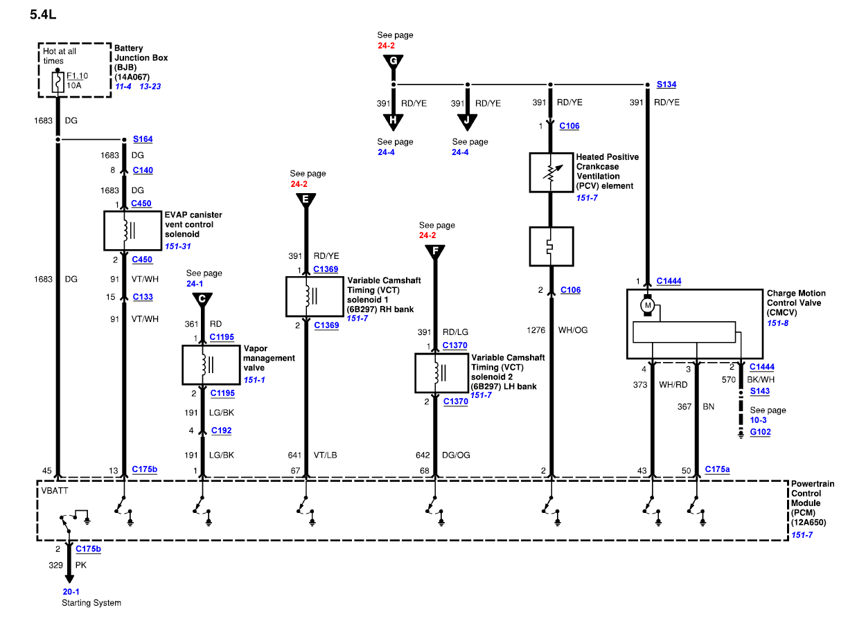 7 3 Pcm Wiring Diagram
