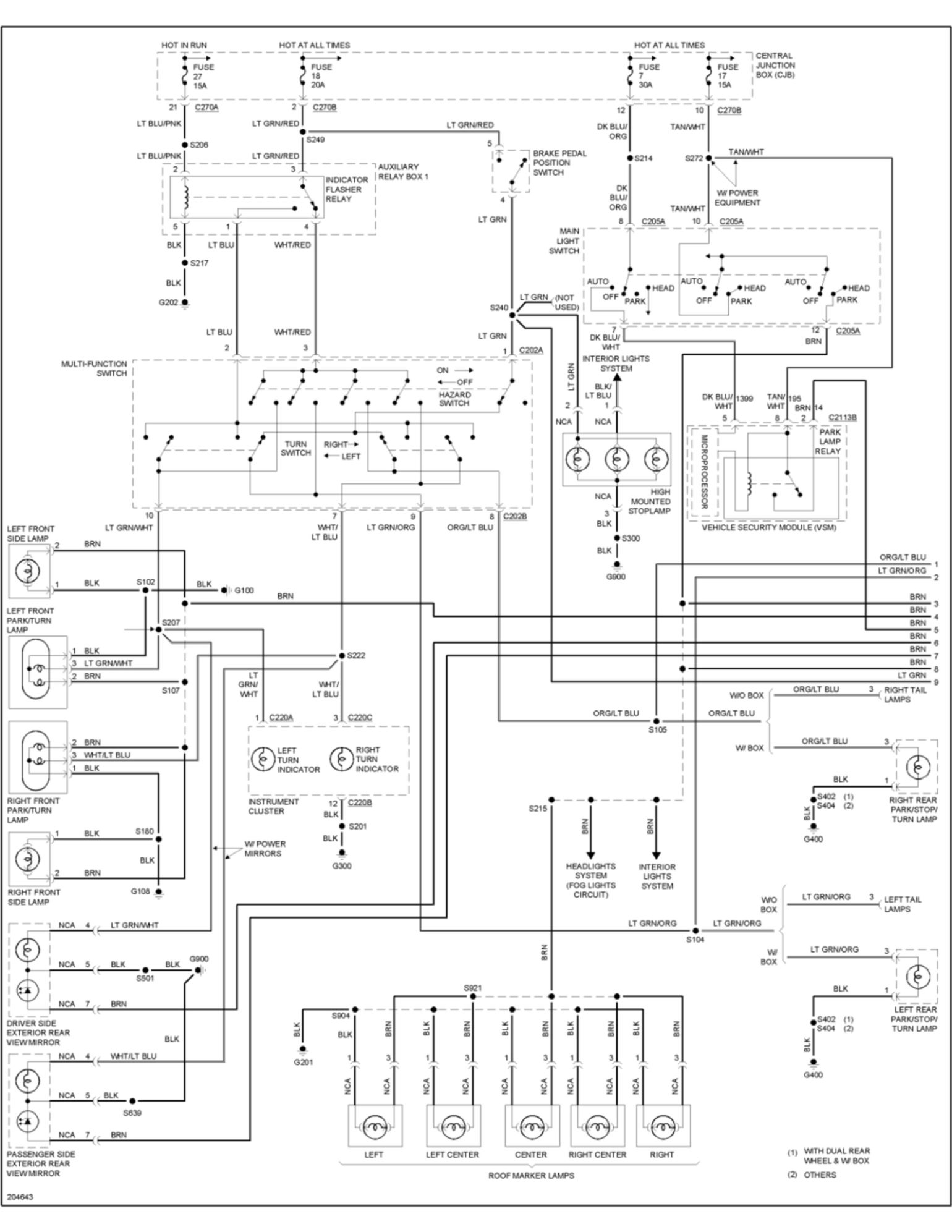 80 2006_f250_lights_1_2b023c2fa1ddf644c887c9adee595ace23e9e91f ford f550 pto wiring diagram dolgular com 2000 ford f550 pto wiring diagram at bakdesigns.co