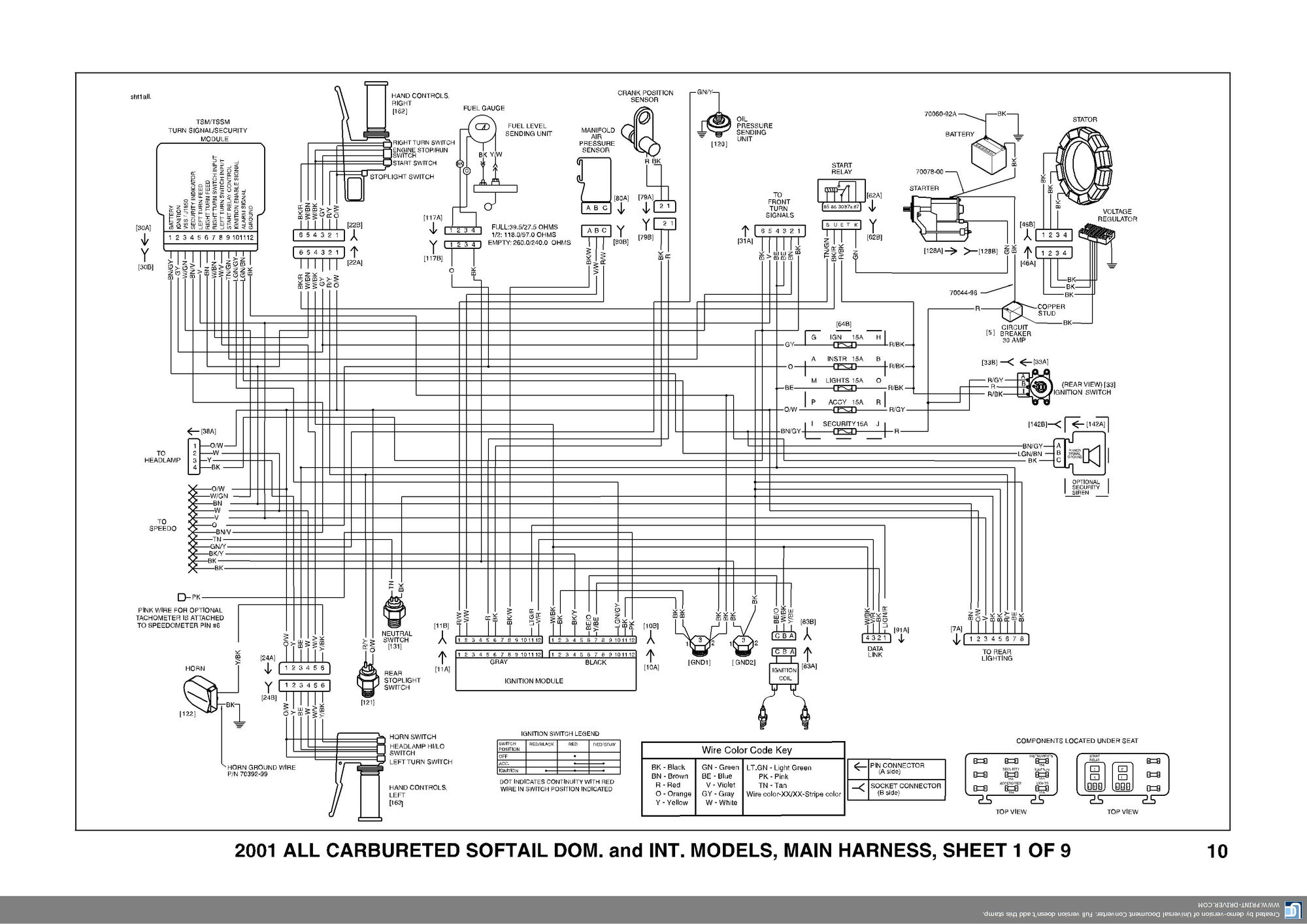 Harley 6 Pole Wiring Diagram