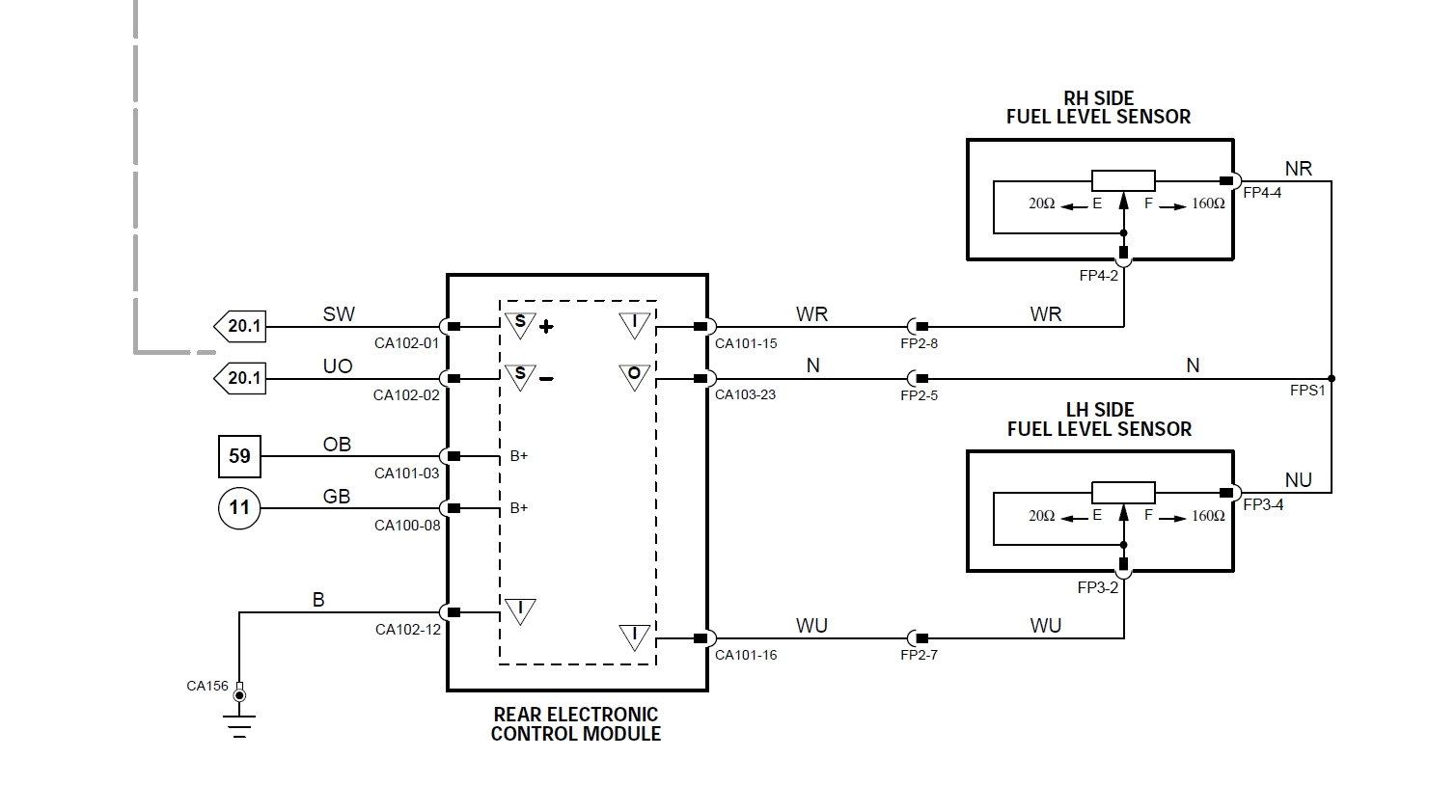S Type 3 0 Fuel Sender Gauge Indication Problem