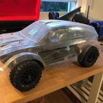 Fs Custom Axial Yeti Converted To Short Course Scale Trophy Truck R C Tech Forums