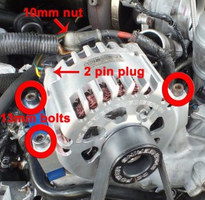 Ford F150 F250 Replace Your Alternator How to  FordTrucks