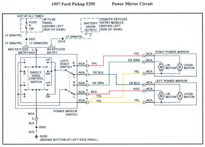 f350 mirror wiring diagram  farmall 504 wiring harness