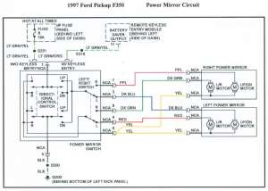 1996 power mirror wiring diagram ?  Ford F150 Forum