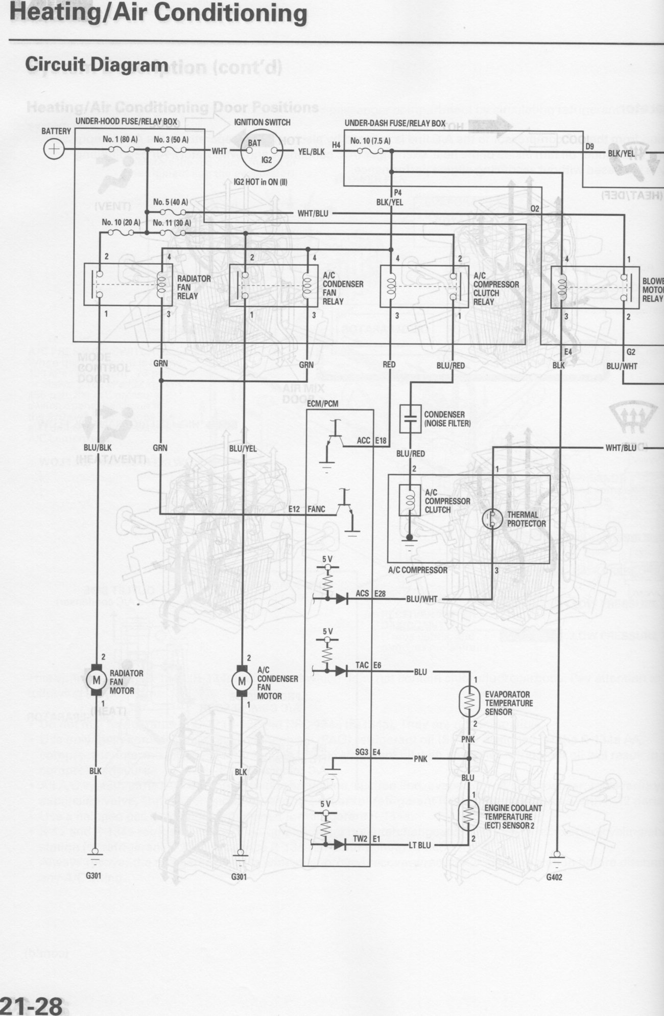 Wiring Schamatic A C System