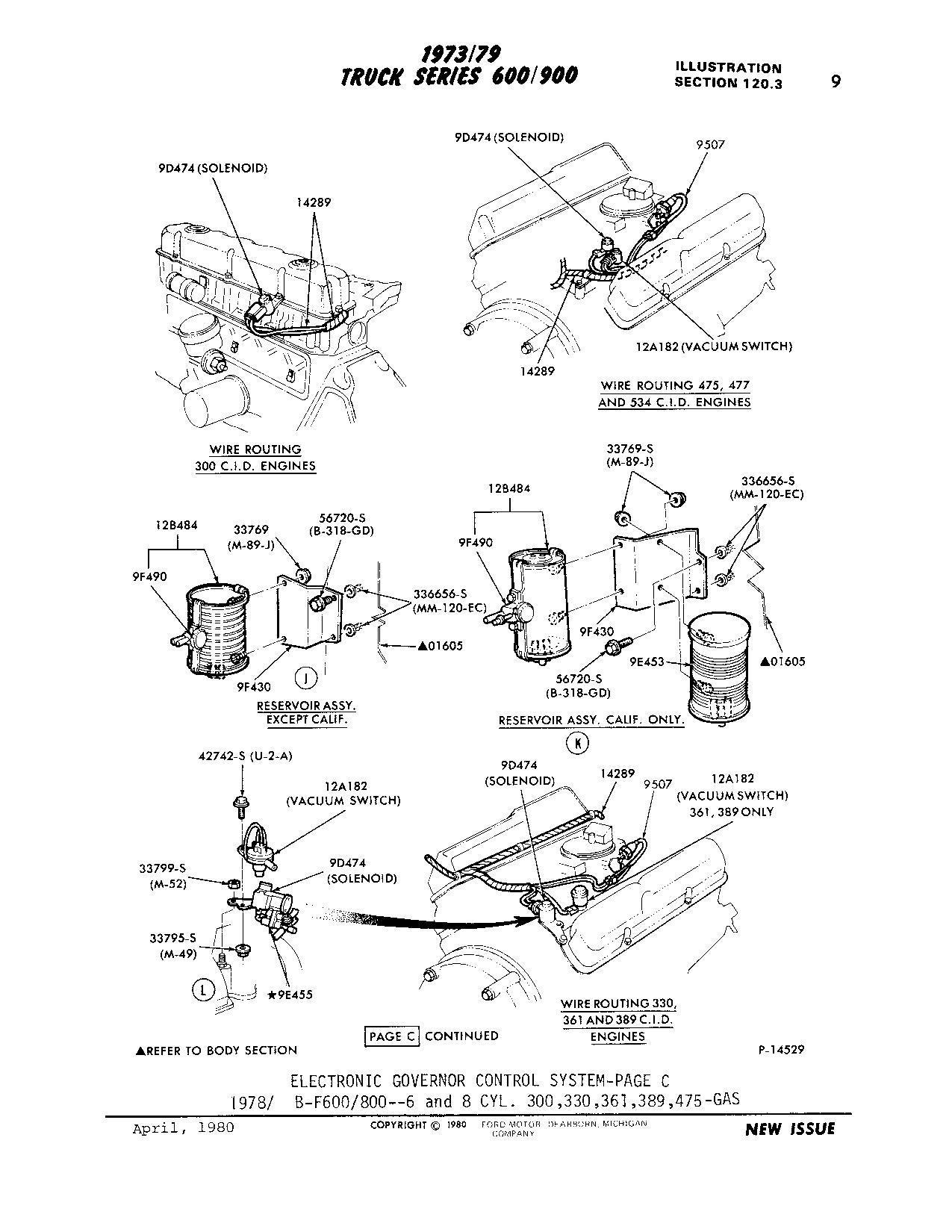 F600 Ca Vacuum Routing Diagram