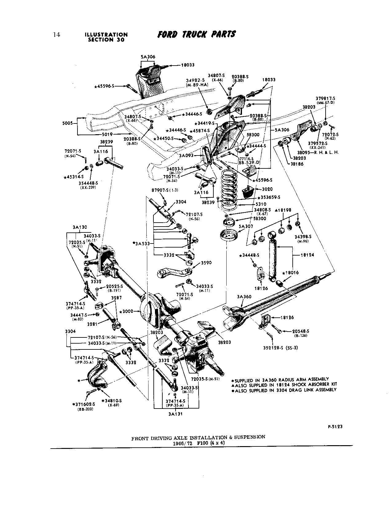 F100 Suspension Pictures