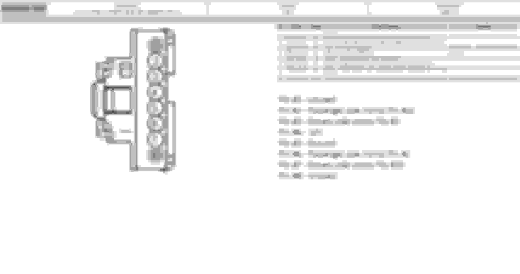 Ford Power Mirror Switch Wiring Diagram