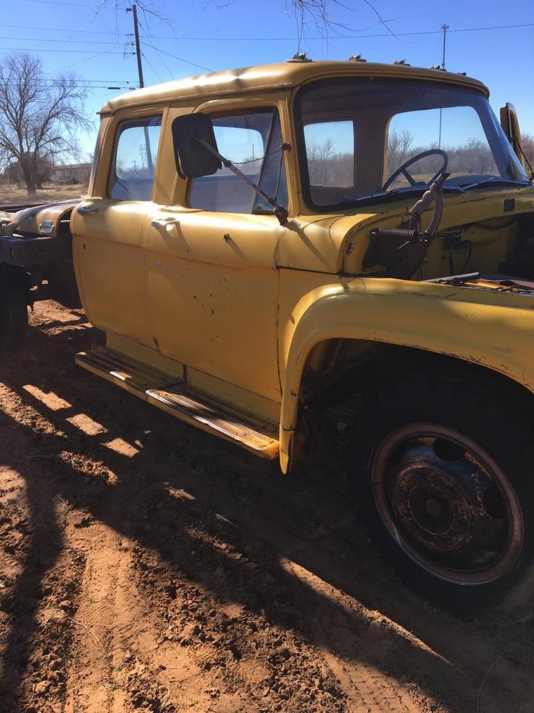 1960 Ford F600 Dump Truck 1954