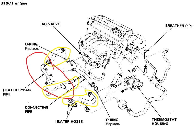 1997 Acura Rl Engine Diagram