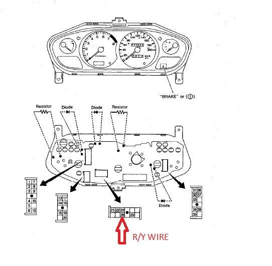 diagram 1968 camaro dakota digital wiring diagram full