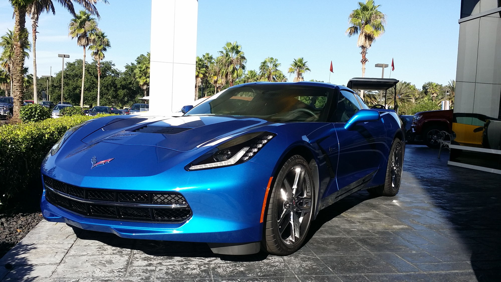 2014 Corvette Laguna Blue Kalahari