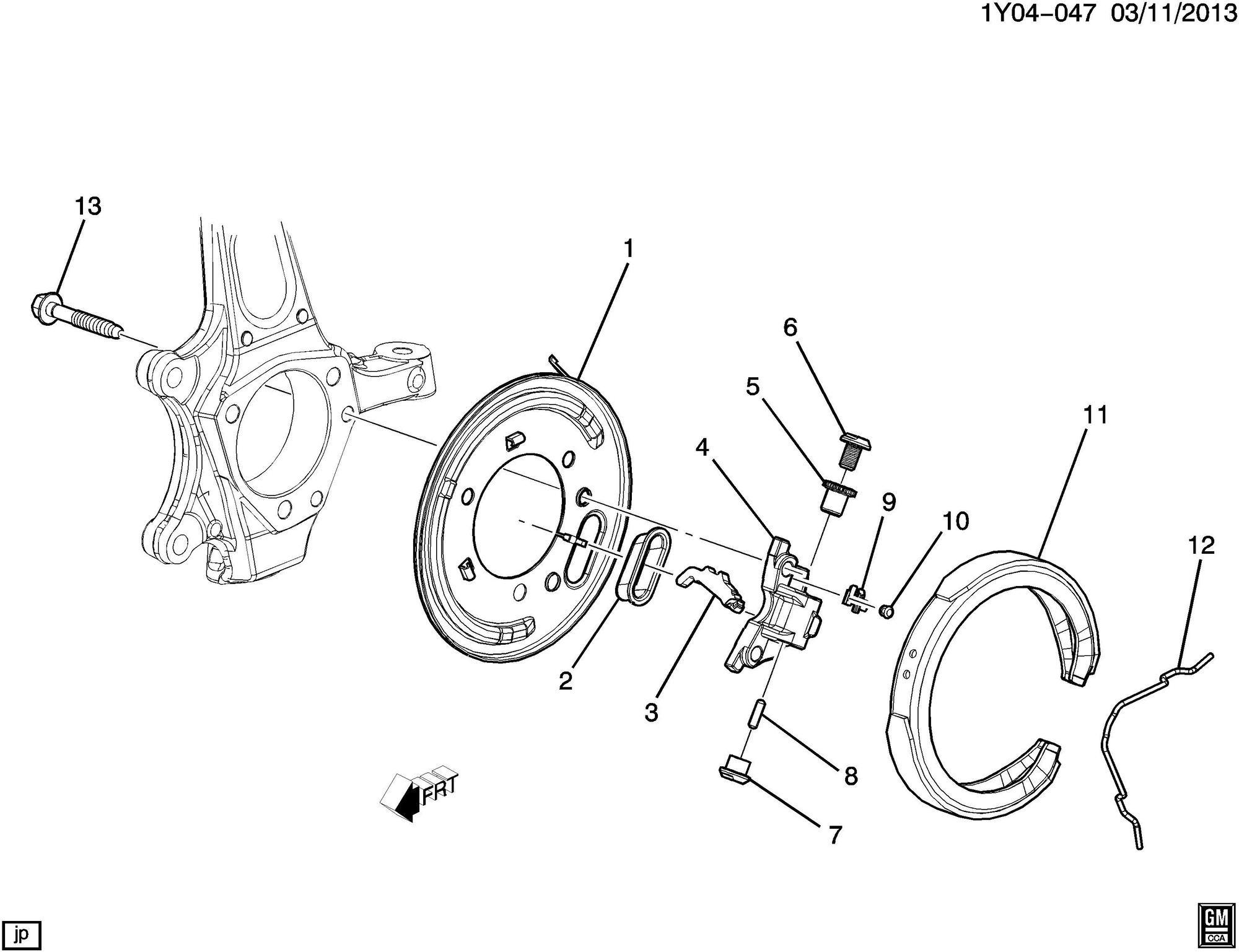 Parking Brake Spring Adjustment Wheel Help
