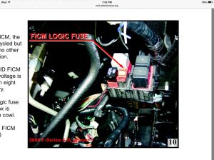 2003 60  no power to FICM relay pin 5  Ford Powerstroke Diesel Forum