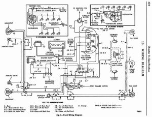 wire diagram for 56 headlight switch  Ford Truck