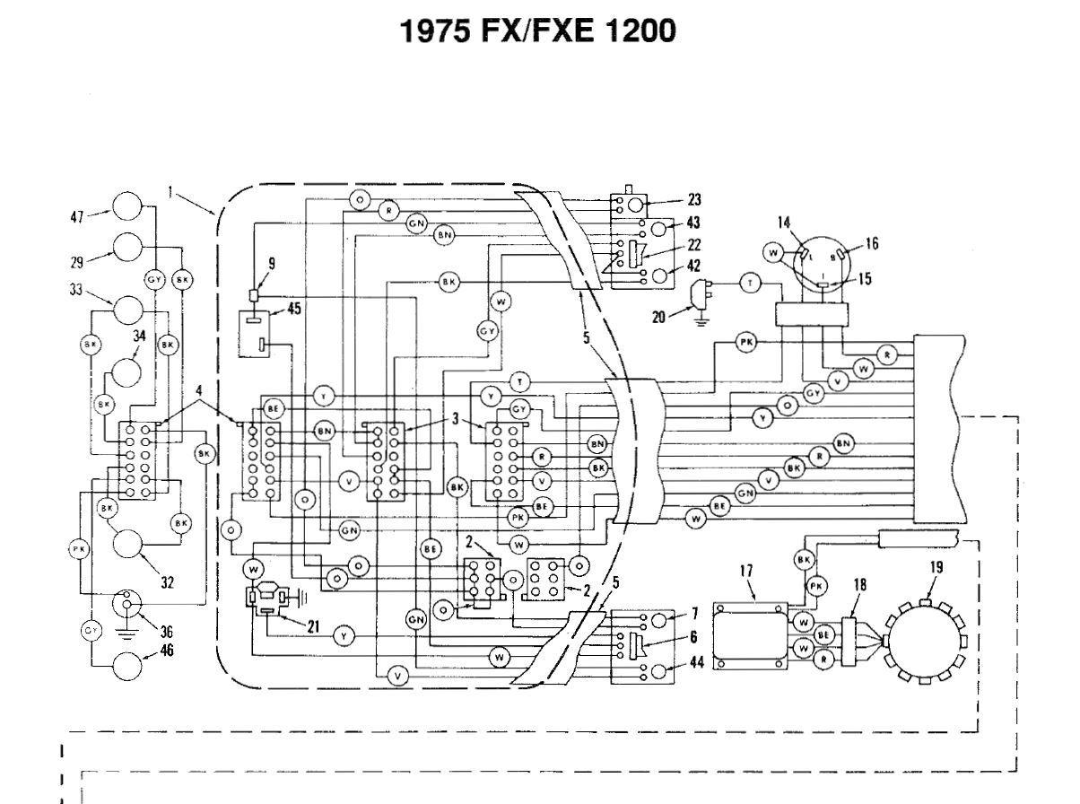 75 Flh Wiring Diagram