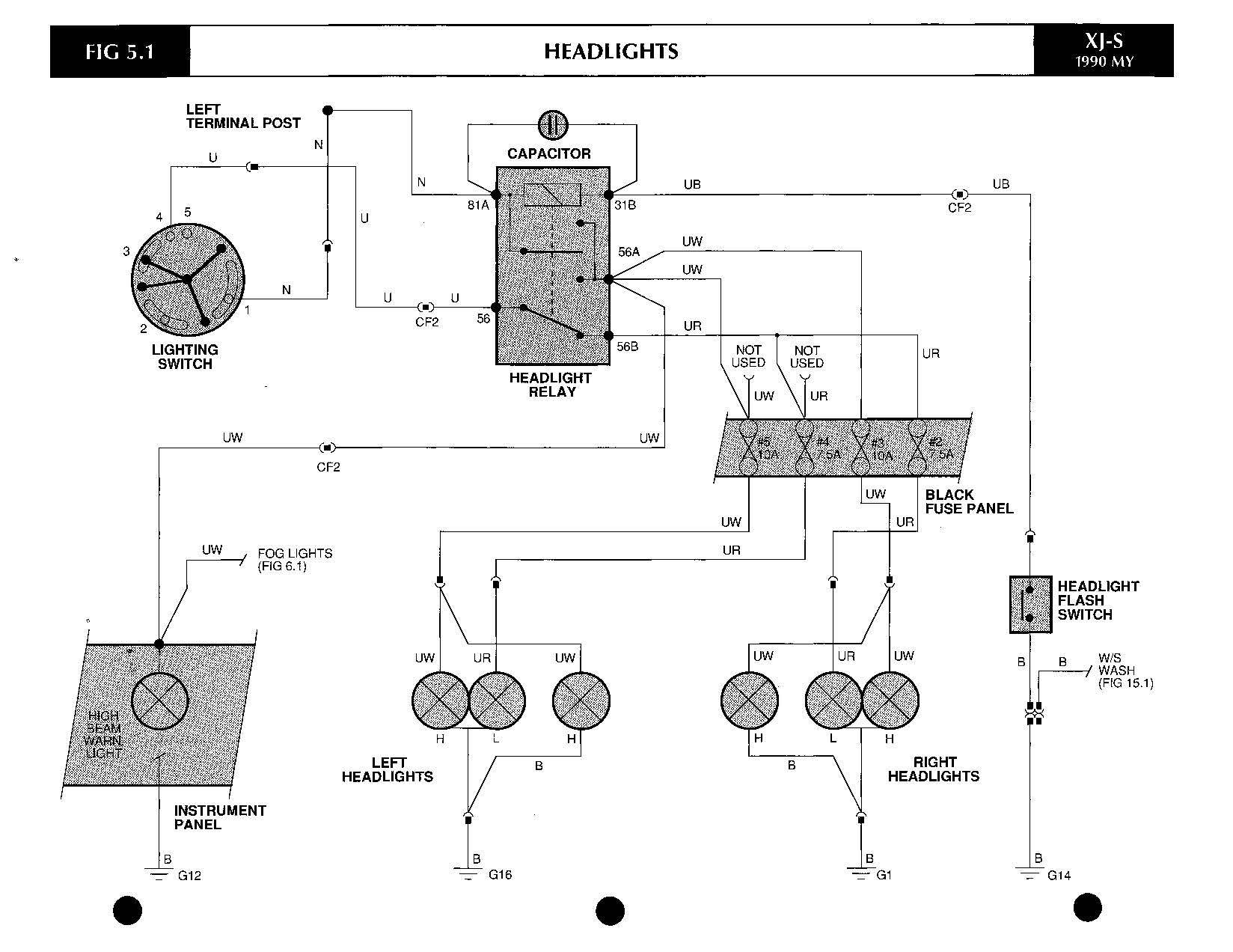 Jaguar Battery Diagram